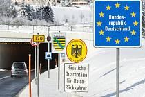 Česko-německý hraniční přechod Cínovec/Altenberg