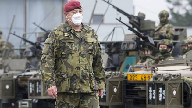 Náčelník generálního štábu Armády ČR Aleš Opata