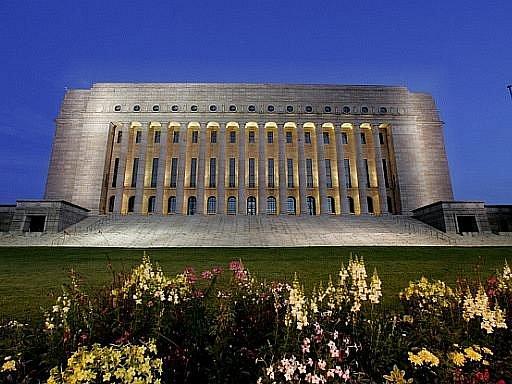 Finský parlament v Helsinkách