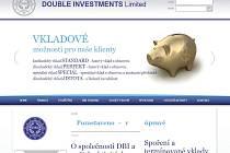 Web společnosti Double Investments