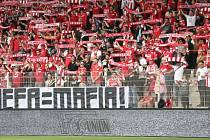 Fanoušci Unionu Berlín.