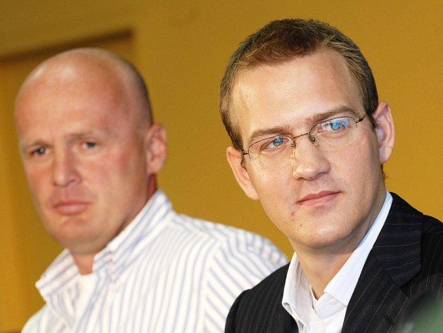 Michal Bílek (vlevo) a Daniel Křetínský
