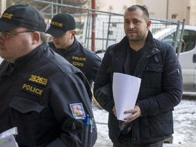 Vazebně stíhaný advokát Ivo Hala.