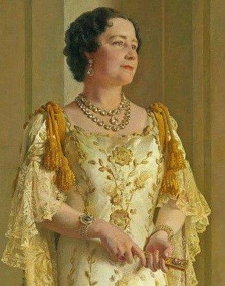 Královna Alžběta v době II. světové války.