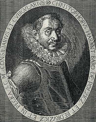 Kryštof Harant z Polžic a Bezdružic byl zatčen začátkem března 1621 na svém hradě Pecka