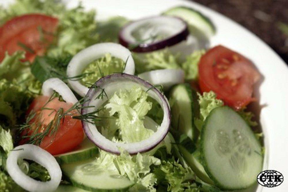 Zeleninový salát - Zeleninový salát - ilustrační foto