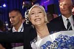 Marine Le Penová má možná lepší výsledky v průzkumech, než potom ve volbách.