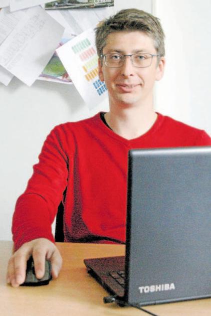 Michal Odstrčil ředitl neziskovky Paracentrum Fenix.