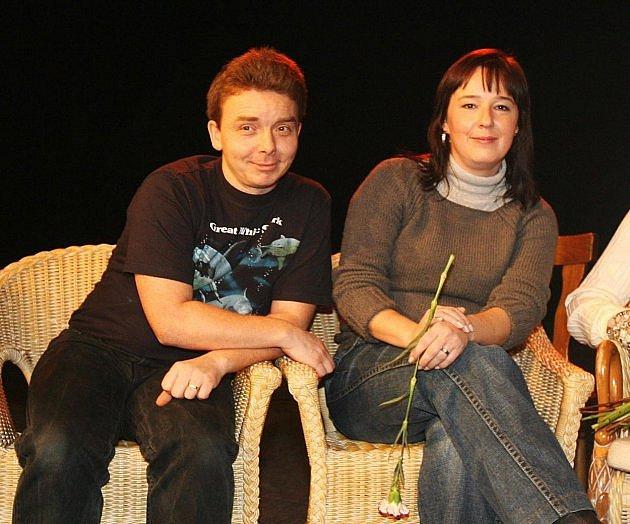 Milan Šimáček a Žaneta Fuchsová.