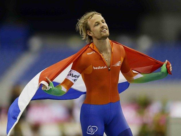 Nizozemský rychlobruslař Michel Mulder vyhrál olympijský závod na 500 metrů.