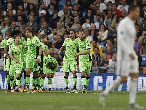 Radost hráčů Sportingu