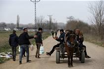 Uprchlíci na turecko-řecké hranici