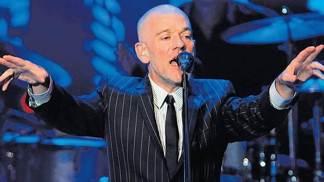 Zpěvák skupiny R.E.M. Michael Stipe