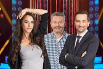 Porota. Eva Burešová, Aleš Háma a Ondřej Sokol budou hodnotit výkony soutěžících v show Tvoje tvář má známý hlas.
