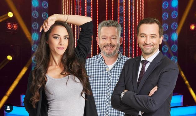 Porota. Eva Burešová, Aleš Háma a Ondřej Sokol budou hodnotit výkony soutěžících vshow Tvoje tvář má známý hlas.
