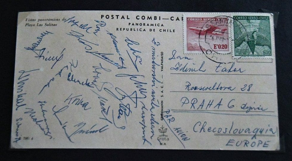 Pohled z Chile od fotbalistů, kteří tam na MS v roce 1962 vybojovali stříbrné medaile