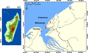 Lokalita, na níž byly objeveny fosilní žraločí zuby