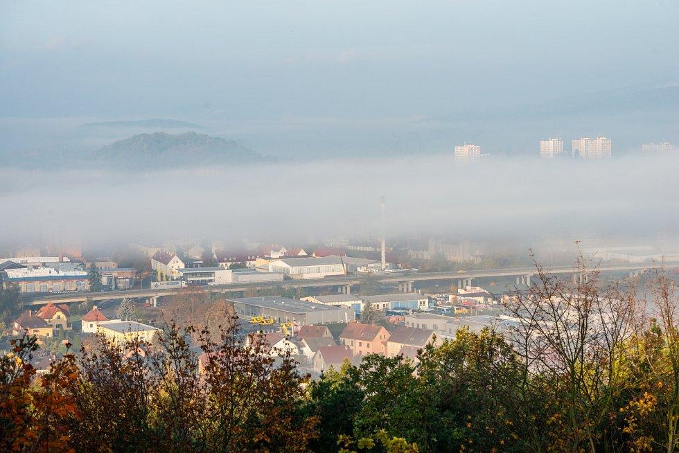 Inverzní počasí na Českolipsku