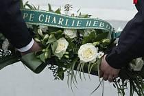 Pieta za oběti útoku na redakci časopisu Charlie Hebdo.