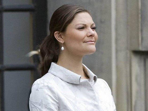 Švédská princezna Victoria