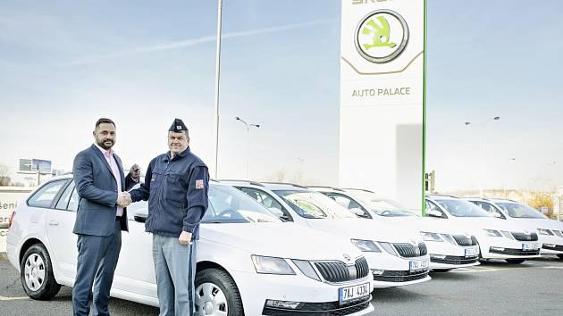 Vozy Škoda Octavia Combi pro Vězeňskou službu ČR