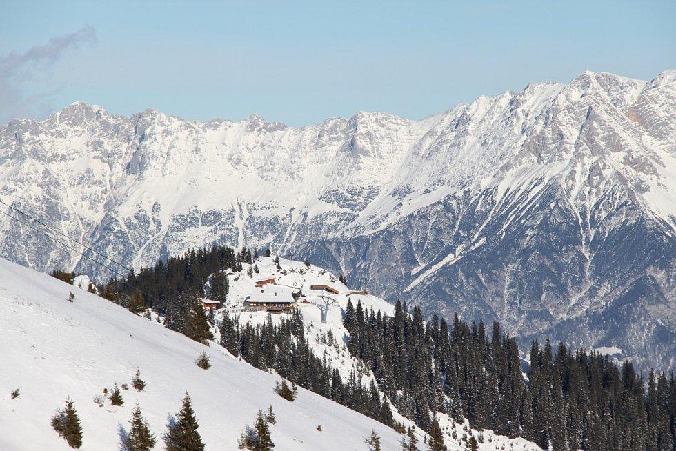 Rakouské alpské středisko Zell am See