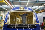 Ve výrobním závodě vídeňského Siemensu byla 12. února novinářům předvedena výroba vlaků Rail Jet pro České dráhy.