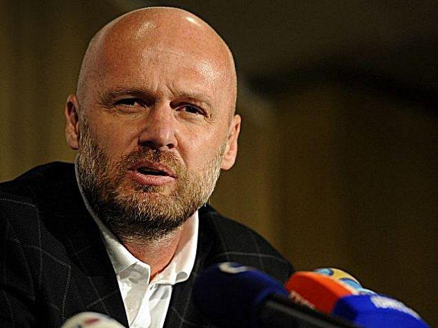 Trenér fotbalové reprezentace Michal Bílek.
