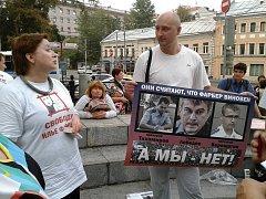 Ruský opoziční novinář Arkadij Babčenko.