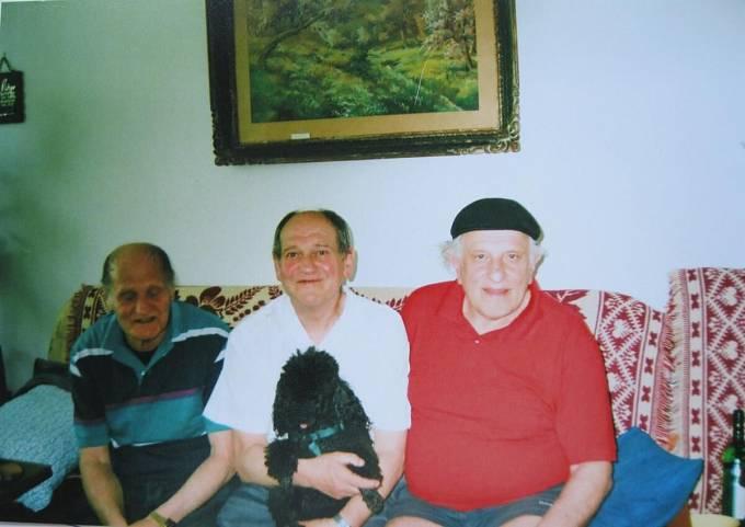 Sourozenci Petr, Pavel a Jaroslav, Mohelnice 2010.