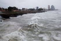 Bouře Erika v Dominikánské republice.