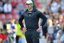 Trenér Slovanu Jindřich Trpišovský.
