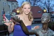 Mistryně Evropy Simona Baumrtová se stala nejlepším sportovcem Českého svazu plaveckých sportů.