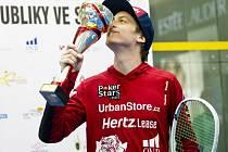 Squashista Jan Koukal získal šestnáctý český titul.