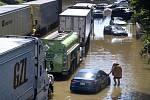 Bleskové záplavy v newyorské čtvrti Bronx, 2. září 2021