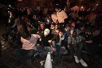 Demonstranti hnutí Okupujte Wall Street