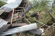 Sever India zasáhla silná bouře.
