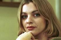 Česká herečka Bára Srncová.