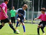 Odveta finále okresního přeboru mladších žáků, neděle 11. června 2017: FK Čáslav E - Sokol Družba Suchdol 5:4.