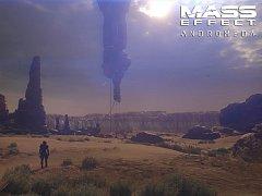 Počítačová hra Mass Effect: Andromeda.