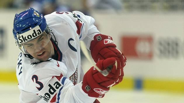 Marek Židlický byl kapitánem českého týmu na neúspěšném světovém šampionátu v roce 2009.