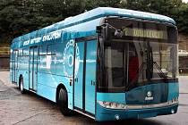 Škoda Electric dnes představila svůj první bateriový elektrobus.
