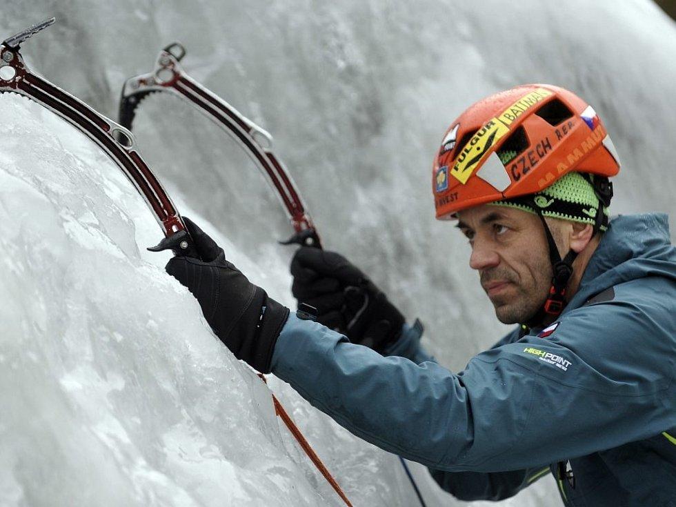 Horolezec Radek Jaroš na archivním snímku.