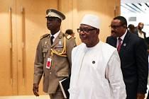 Prezident Mali Ibrahim Boubacar Keita.
