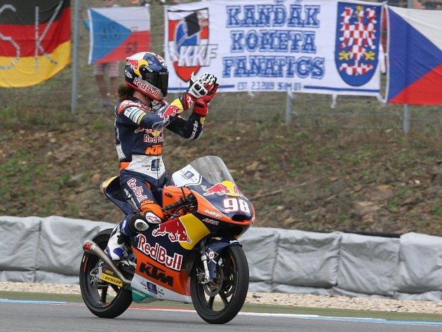 Karel Hanika v GP České republiky.