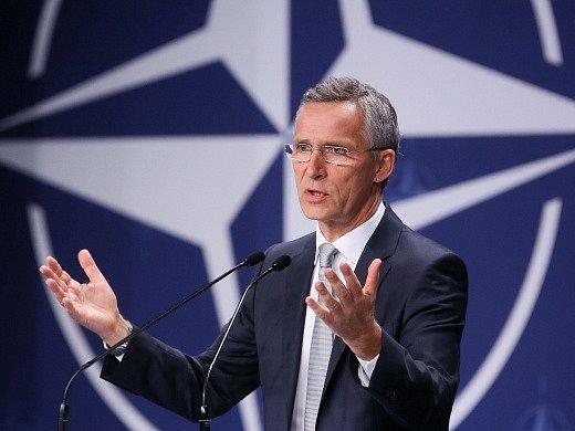 Generální tajemník aliance Jens Stoltenberg.
