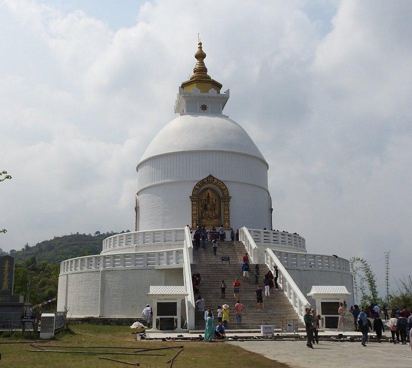 Pokhara - Peace Temple