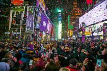 Oslavy nového roku v New Yorku