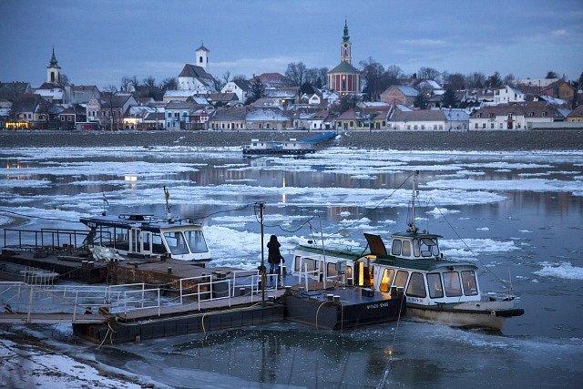 Mrazivá zima v Evropě: Maďarsko