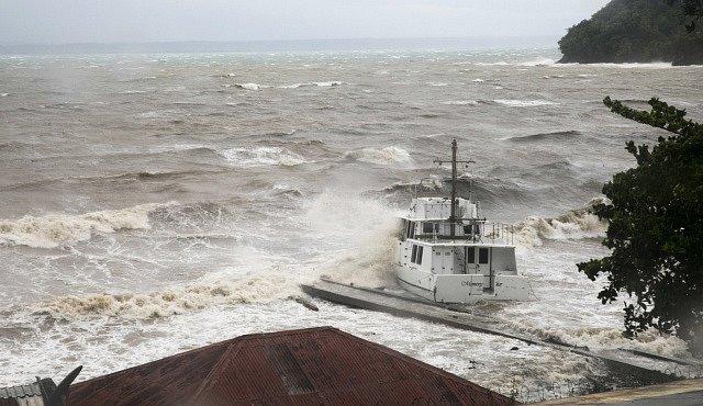 Hurikán Irma zasáhl i Dominikánskou republiku.